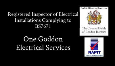 One Goddon Electrical BS7671