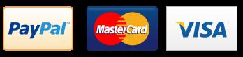 Pay-Pal Master Card & Visa